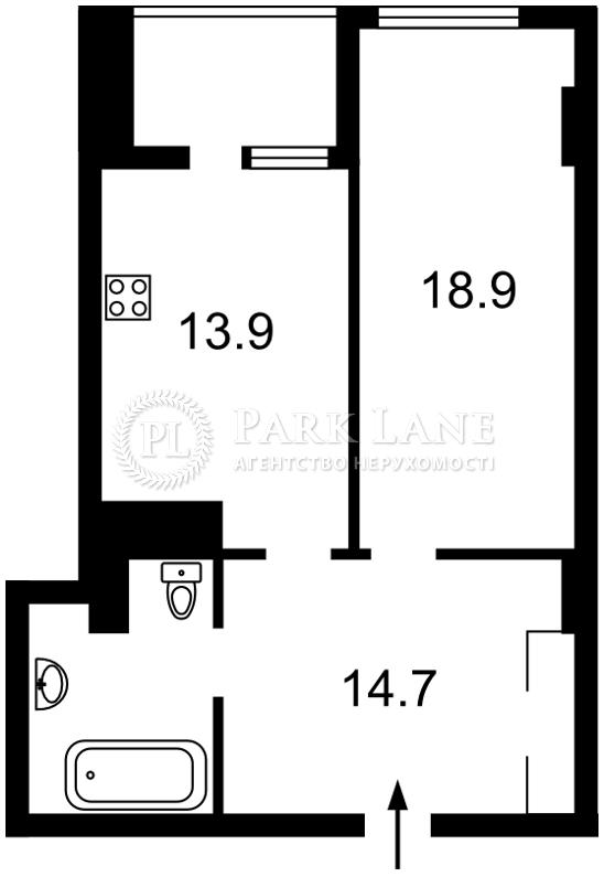 Квартира ул. Антоновича (Горького), 74, Киев, I-31112 - Фото 2