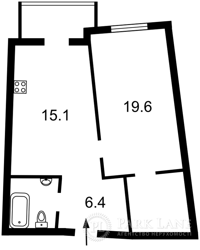 Квартира ул. Тютюнника Василия (Барбюса Анри), 51/1а, Киев, Z-281473 - Фото 2