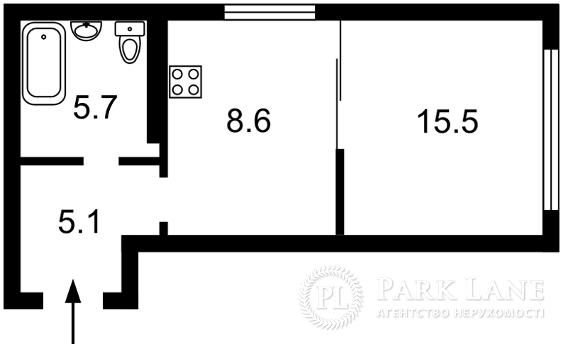 Квартира ул. Шолуденко, 1а, Киев, Z-664654 - Фото 2