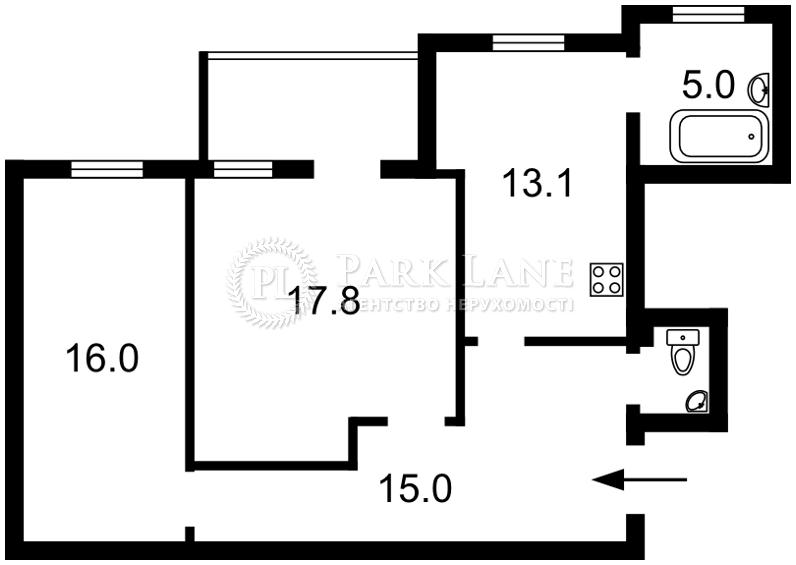 Квартира ул. Большая Васильковская, 81, Киев, R-25647 - Фото 2
