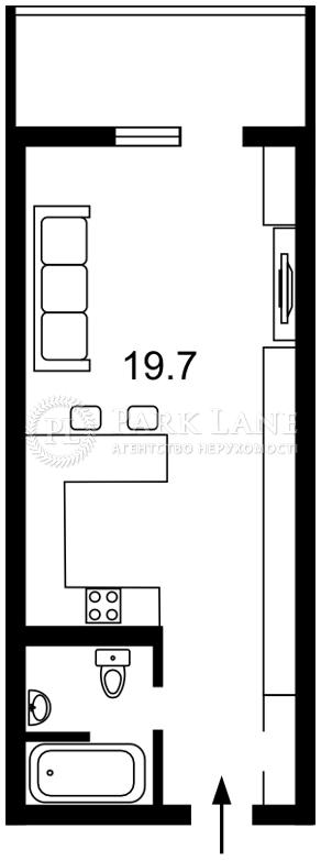 Квартира ул. Васильковская, 100а, Киев, B-100467 - Фото 2