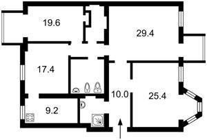 Квартира R-33403, Сечевых Стрельцов (Артема), 40/1, Киев - Фото 6