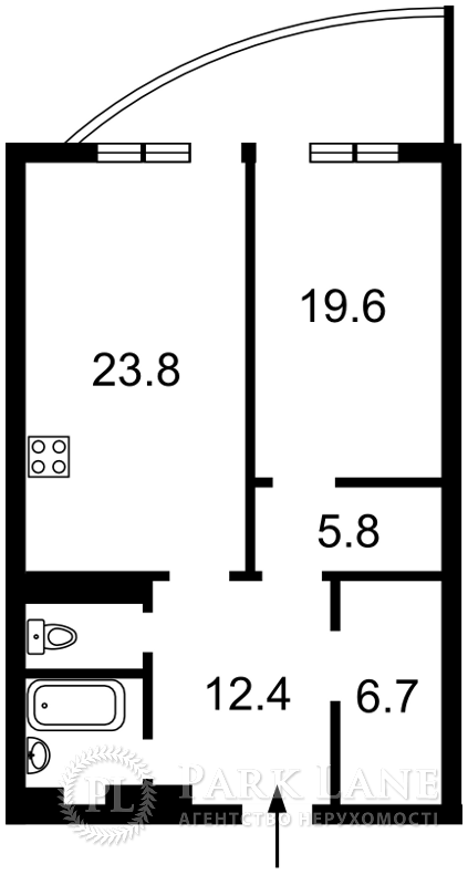 Квартира Лабораторный пер., 7, Киев, N-21924 - Фото 2