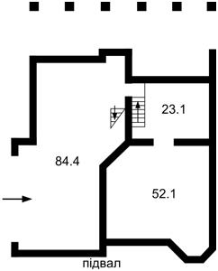 Дом B-100517, Лесная, Мощун (Киево-Святошинский) - Фото 4