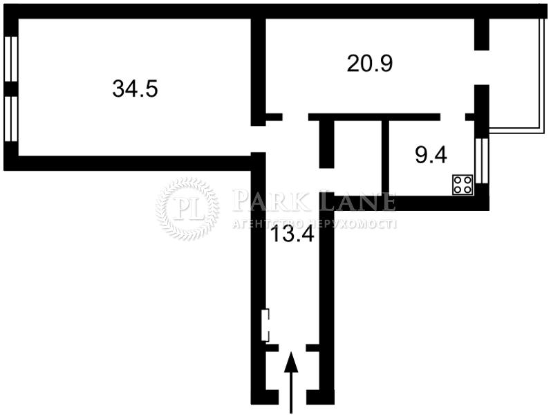 Квартира ул. Пушкинская, 9, Киев, I-31217 - Фото 2