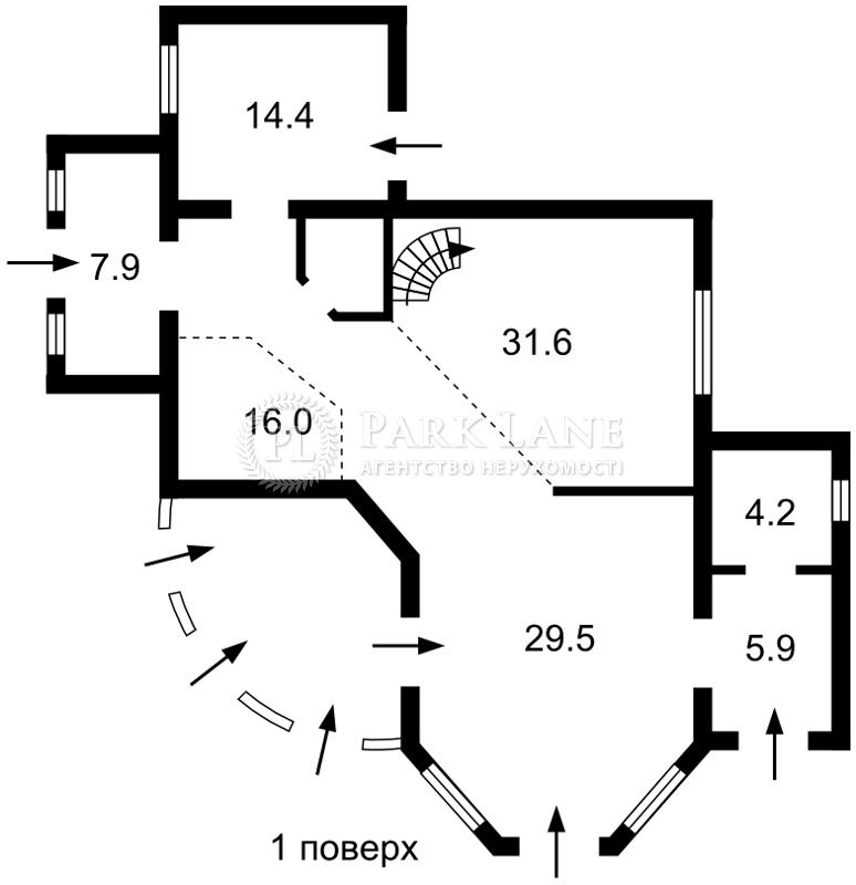 Будинок Северинівка (Макарівський), R-33601 - Фото 1