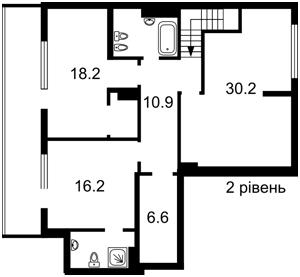 Квартира J-29216, Набережно-Рыбальская, 11, Киев - Фото 3