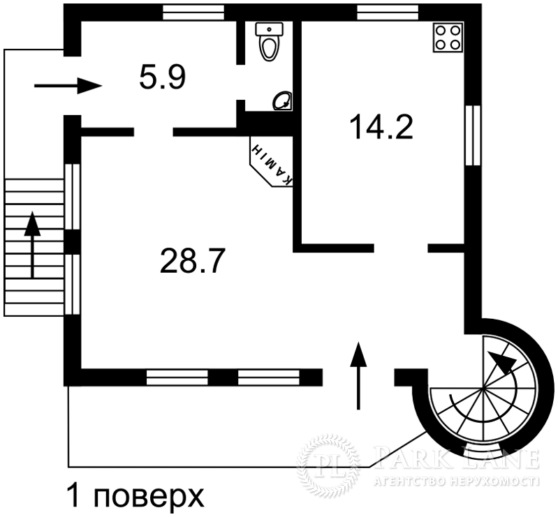 Будинок Малютянка, R-33415 - Фото 2