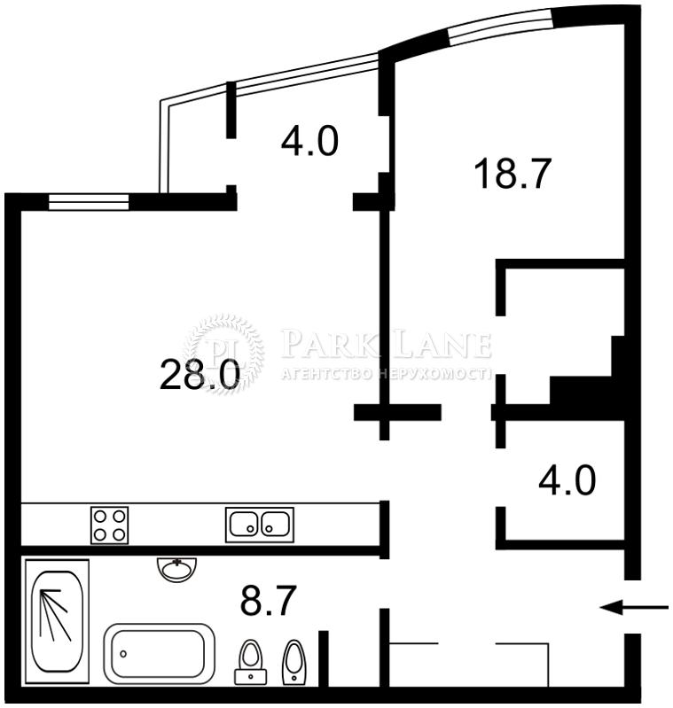 Квартира Леси Украинки бульв., 7а, Киев, R-33654 - Фото 2