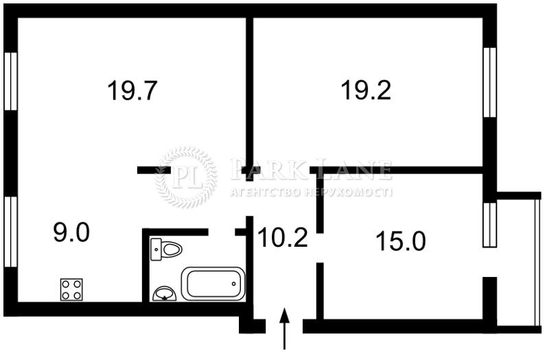 Квартира ул. Московская, 15, Киев, Z-632191 - Фото 2
