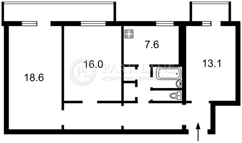 Квартира ул. Раевского Николая, 34, Киев, R-33959 - Фото 2