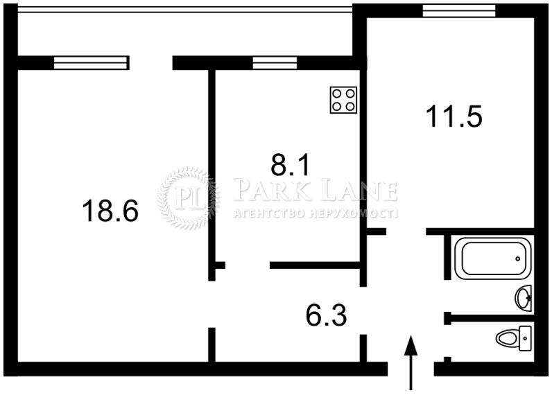 Квартира ул. Гоголевская, 27, Киев, I-31195 - Фото 2