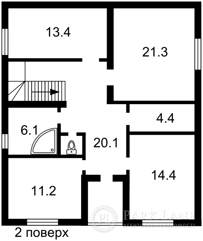 Дом B-100730, Сагайдачного, Ирпень - Фото 3