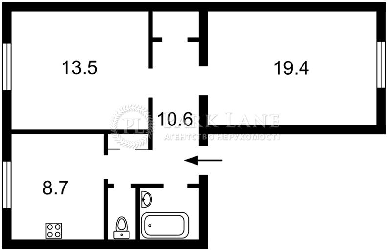 Квартира Лабораторный пер., 22, Киев, Z-673435 - Фото 2