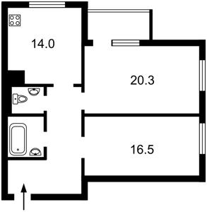 Квартира Z-671902, Никольско-Слободская, 3а, Киев - Фото 5