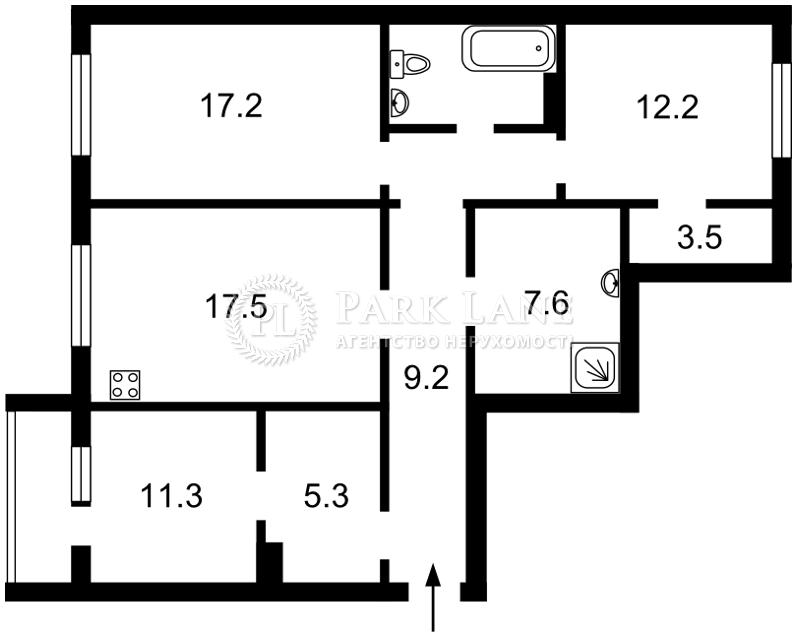 Квартира Z-683271, Гмыри Бориса, 11, Киев - Фото 4