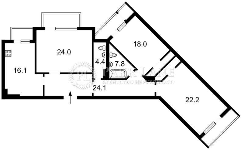 Квартира R-34092, Коновальца Евгения (Щорса), 44а, Киев - Фото 6
