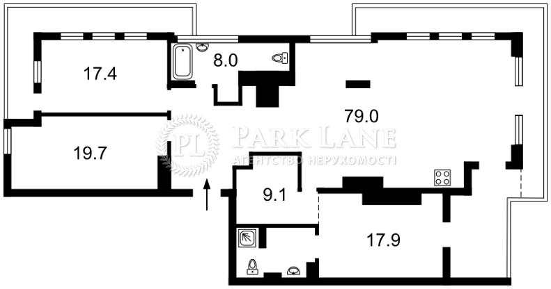 Квартира ул. Саксаганского, 70а, Киев, J-29338 - Фото 2