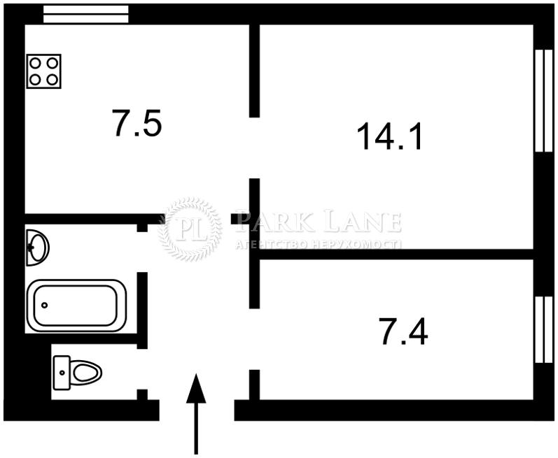 Квартира ул. Софиевская, 17, Киев, Z-1123461 - Фото 2