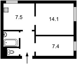 Квартира Z-1123461, Софиевская, 17, Киев - Фото 3