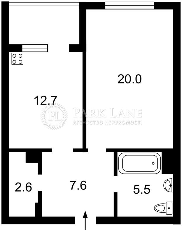 Квартира Лобановского просп. (Краснозвездный просп.), 144, Киев, Z-681397 - Фото 2