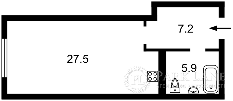 Квартира Z-684123, Тимошенко Маршала, 21/19, Киев - Фото 5