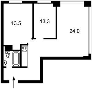 Квартира Z-703715, Жилянська, 68, Київ - Фото 4