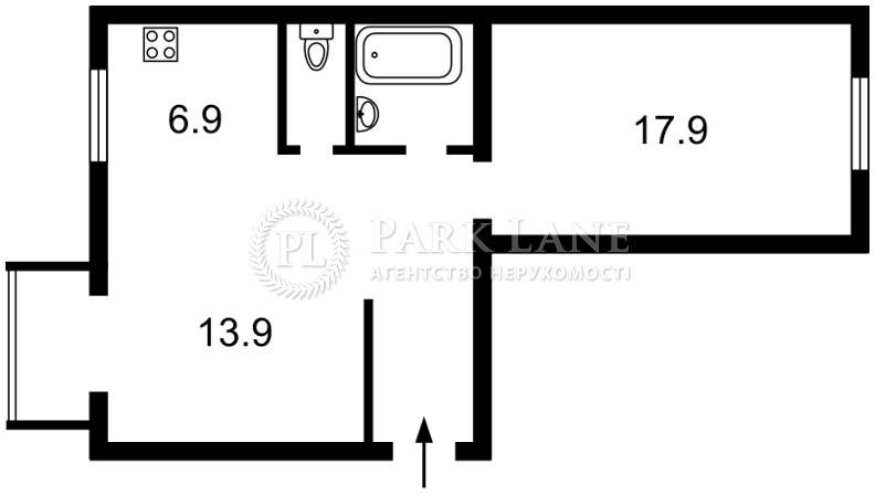 Квартира ул. Тарасовская, 3, Киев, Z-681366 - Фото 2