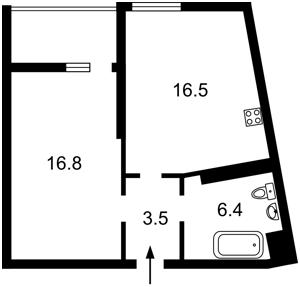 Квартира R-33828, Глибочицька, 43 корпус 3, Київ - Фото 5