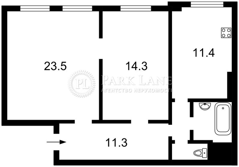 Квартира Тбилисский пер., 1, Киев, Z-266624 - Фото 2