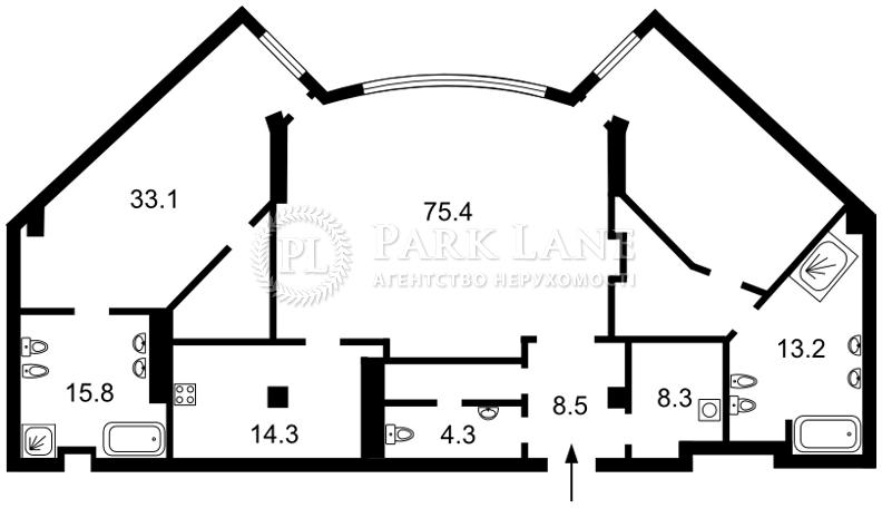 Квартира I-31287, Мазепы Ивана (Январского Восстания), 11б, Киев - Фото 5