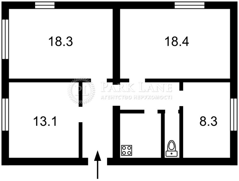 Квартира Лабораторный пер., 22, Киев, H-47668 - Фото 2