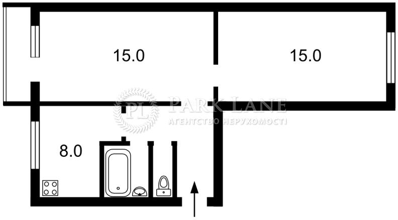 Квартира Победы просп., 7б, Киев, Z-564791 - Фото 2