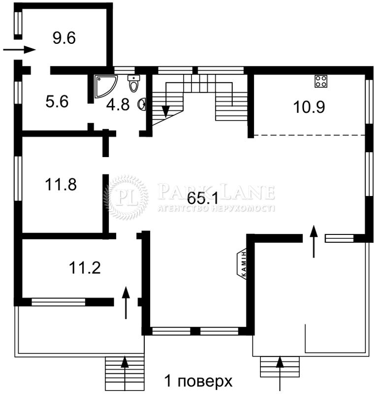 Дом J-29475, Лесная, Малютянка - Фото 2