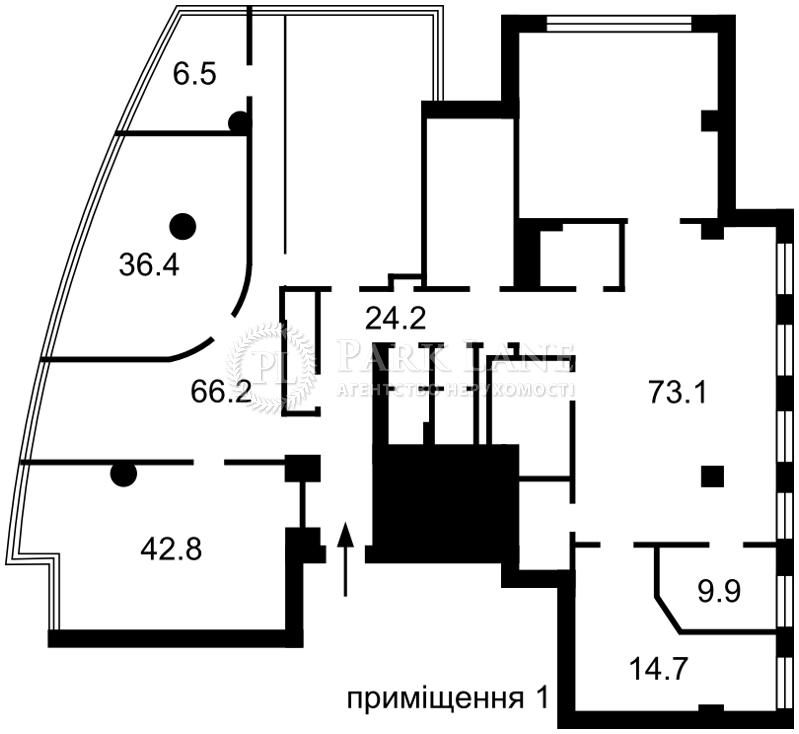 Нежилое помещение, Кловский спуск, Киев, J-29495 - Фото 2