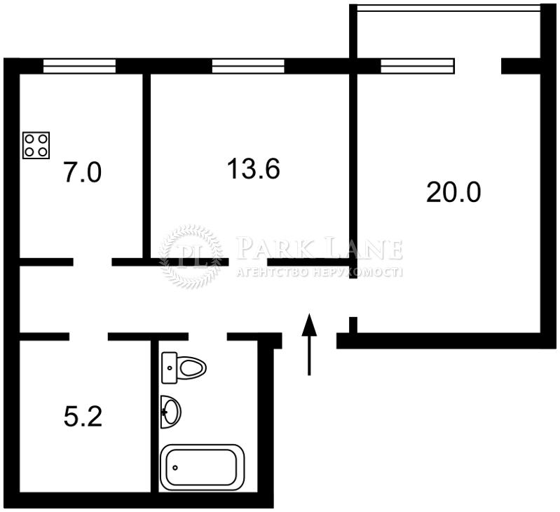 Квартира ул. Костельная, 6, Киев, Z-792193 - Фото 2