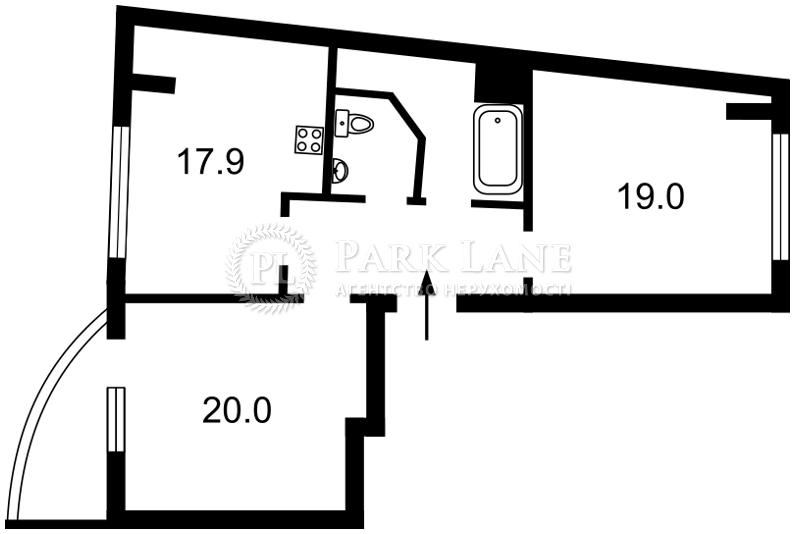 Квартира ул. Златоустовская, 52, Киев, Z-143300 - Фото 2