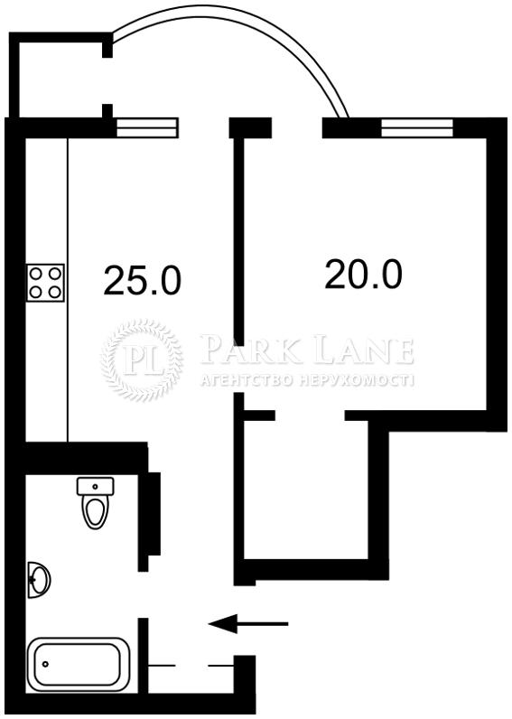 Квартира Леси Украинки бульв., 7а, Киев, Z-696530 - Фото 2