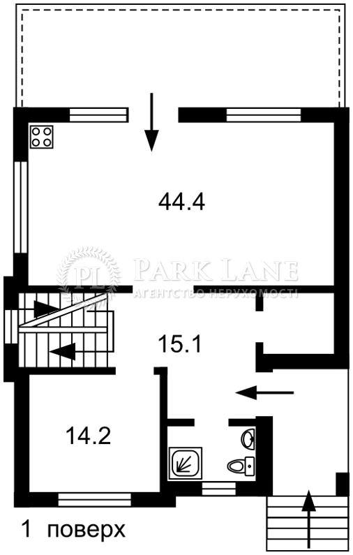 Дом J-29471, Хмельницкого Богдана, Ходосовка - Фото 2