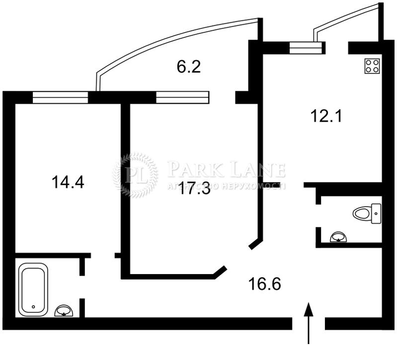 Квартира ул. Миропольская, 39, Киев, R-34809 - Фото 2