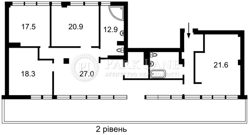Квартира ул. Павловская, 26/41, Киев, Z-693632 - Фото 3