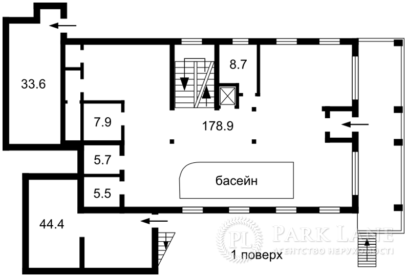 Дом ул. Дружная, Киев, Z-687026 - Фото 3