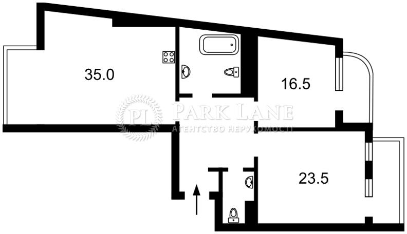 Квартира ул. Туманяна Ованеса, 15а, Киев, Z-698871 - Фото 2