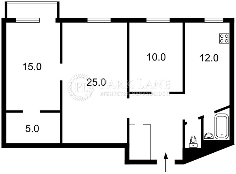 Квартира ул. Владимирская, 40/2, Киев, Z-687949 - Фото 2