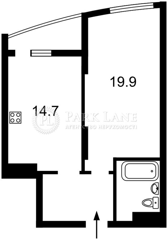 Квартира Харьковское шоссе, 210, Киев, Z-693626 - Фото 2