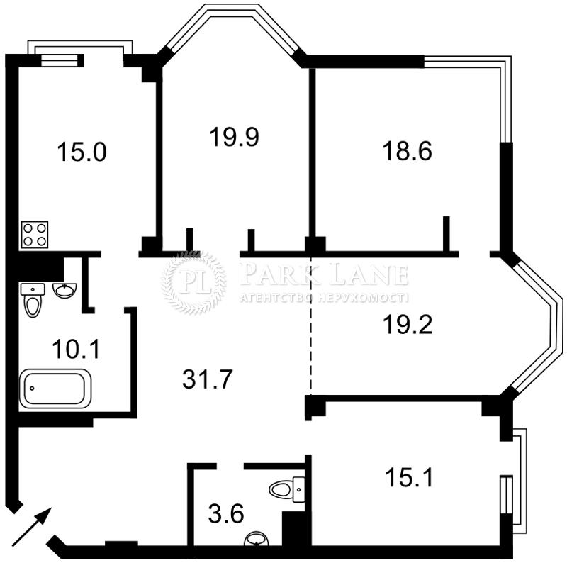 Квартира ул. Ломоносова, 75а, Киев, M-37740 - Фото 2
