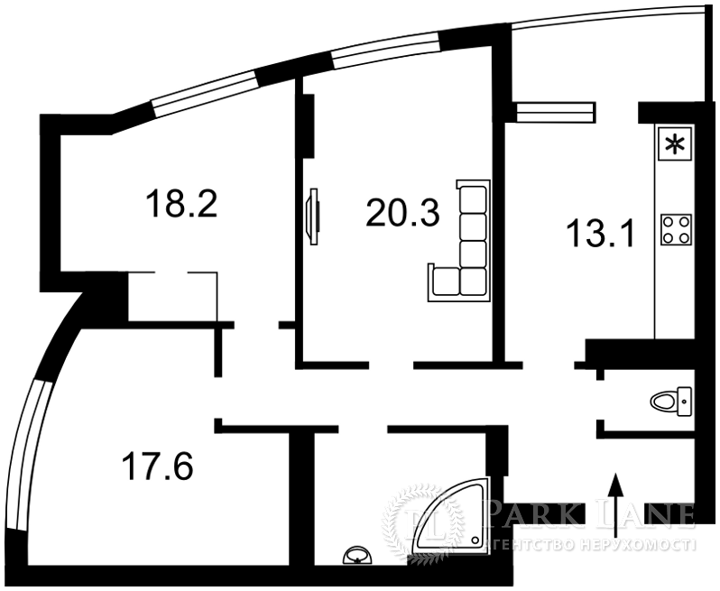 Квартира Победы просп., 121б, Киев, Z-481461 - Фото 2