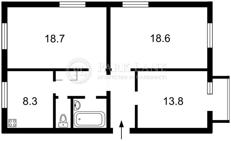Квартира Дружбы Народов бульв., 7, Киев, Z-698173 - Фото 2