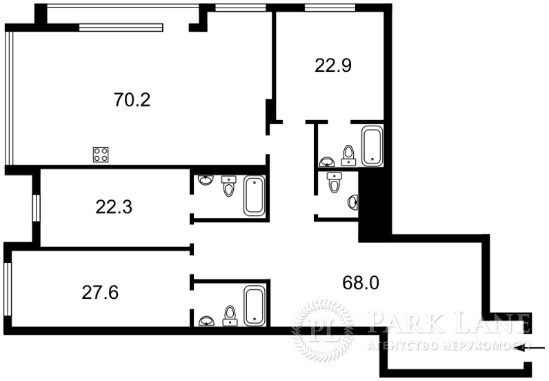 Квартира J-29854, Редутная, 67, Киев - Фото 9