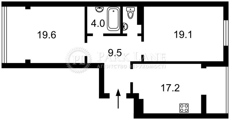 Квартира ул. Александровская, 1, Новоселки (Киево-Святошинский), K-30499 - Фото 2